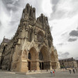 Stock Photo: Cathedral of Reims
