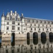 Stock Photo: Chenonceau castle in Loire valley