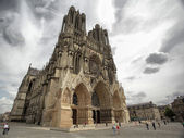 Catedral de reims — Foto de Stock