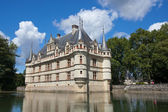 Azay-le-Rideau castle in Loire Valley — Stock Photo