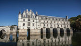 Chenonceau castle in Loire valley — Stok fotoğraf