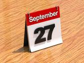 Calendário de lembrete — Fotografia Stock