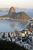 Sugarloaf and Guanabara Bay — Stock Photo