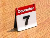 7 º día del mes — Foto de Stock