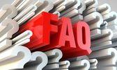 FAQ section — Stock Photo