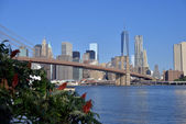 Sunny day ove Manhattan — Photo