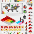 Infographic set elements — Stock Vector