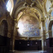 NAPLES, ITALY - CIRCA DECEMBER 2013: San Paolo Maggiore Sacristy — Stock Video