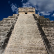 Stock Photo: Stairs of KukulkPyramid at Chichen Itza