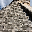 Stock Photo: View up KukulkPyramid
