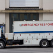 Stock Photo: NYPD Emergency Response Truck