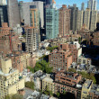East Midtown Aerial — Stock Photo