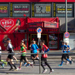 Marathoners Pass through St. Pauli — Stock Photo