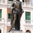 Stock Photo: Statue of Pedro de Heredia