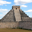 Stock Photo: KukulkPyramid at Chichen Itza