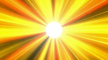 Sunshine Abstract Animation HD NTSC PAL — Stock Video