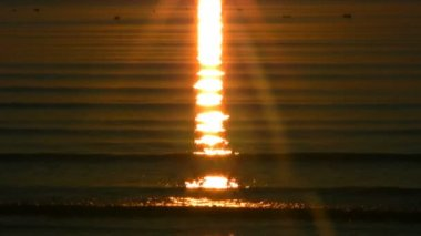 Sunset over the sea 6 — Wideo stockowe