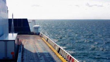 Ferry vacío moviendo 2 — Vídeo de Stock