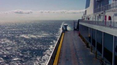 Ferry vacío moviendo 3 — Vídeo de Stock
