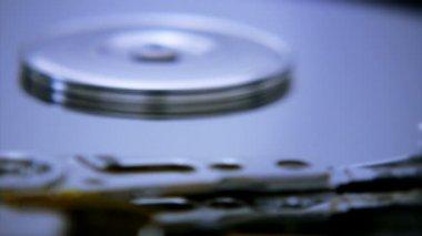 Festplatte closeup 3 — Stockvideo