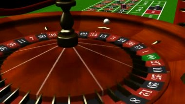 Loopable Roulette Table 1 — Stock Video