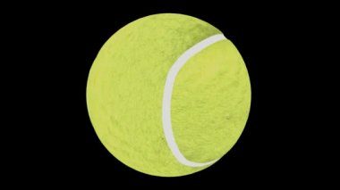 Looping Tennis Ball Animation 1 — Stock Video