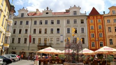 Prague Old Town Square 33 — Stockvideo