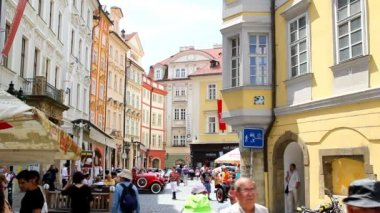 Prague Old Town Square 34 — 图库视频影像