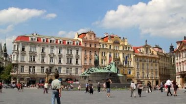 Prague Old Town Square 40 — Wideo stockowe