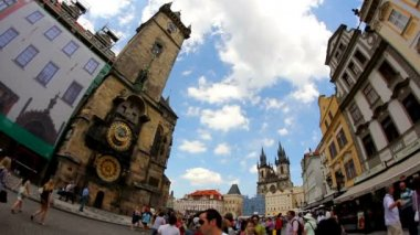 Prague Old Town Square 45 — Stock Video