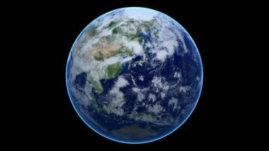 Seamless Loop Earth Animation 17 — Stockvideo