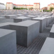 The Holocaost monument in Berlin - Stock Photo