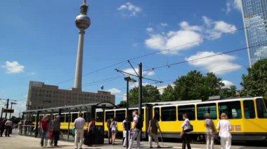Berlin rapid — Stock Video