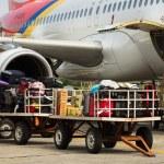 Plane cargo — Stock Photo