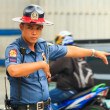 Stock Photo: Traffic officer