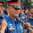 Stock Photo: New police officers joins Philippine National Police