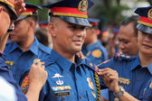 New police officers joins the Philippine National Police — Stock Photo