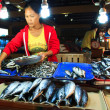 Womfish vendor — Stock Photo #18135847