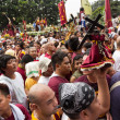 Stock Photo: Feast of Black Nazarene in Manila, Philippines