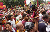 Feast of Black Nazarene in Manila, Philippines — Stock Photo