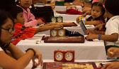Scrabble tournament — Stock Photo