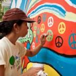 Постер, плакат: Worlds longest peace mural