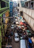 Severe traffic — Stock Photo