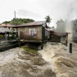 Hurricane Haiyan hits the Philippines — Foto Stock