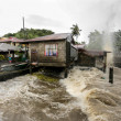 Hurricane Haiyan hits the Philippines — Stock fotografie