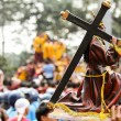 Stock Photo: Catholic biggest procession during feast of Black Nazarene