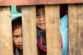 Super typhoon Haiyan survivors — Stock Photo