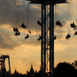 Stock Photo: Southbank Funfair Fairground Ride