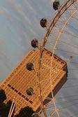 Capsules on the Millenium Wheel / London Eye — Stock Photo