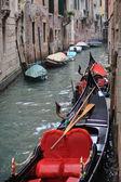Gondole, venezia — Foto Stock